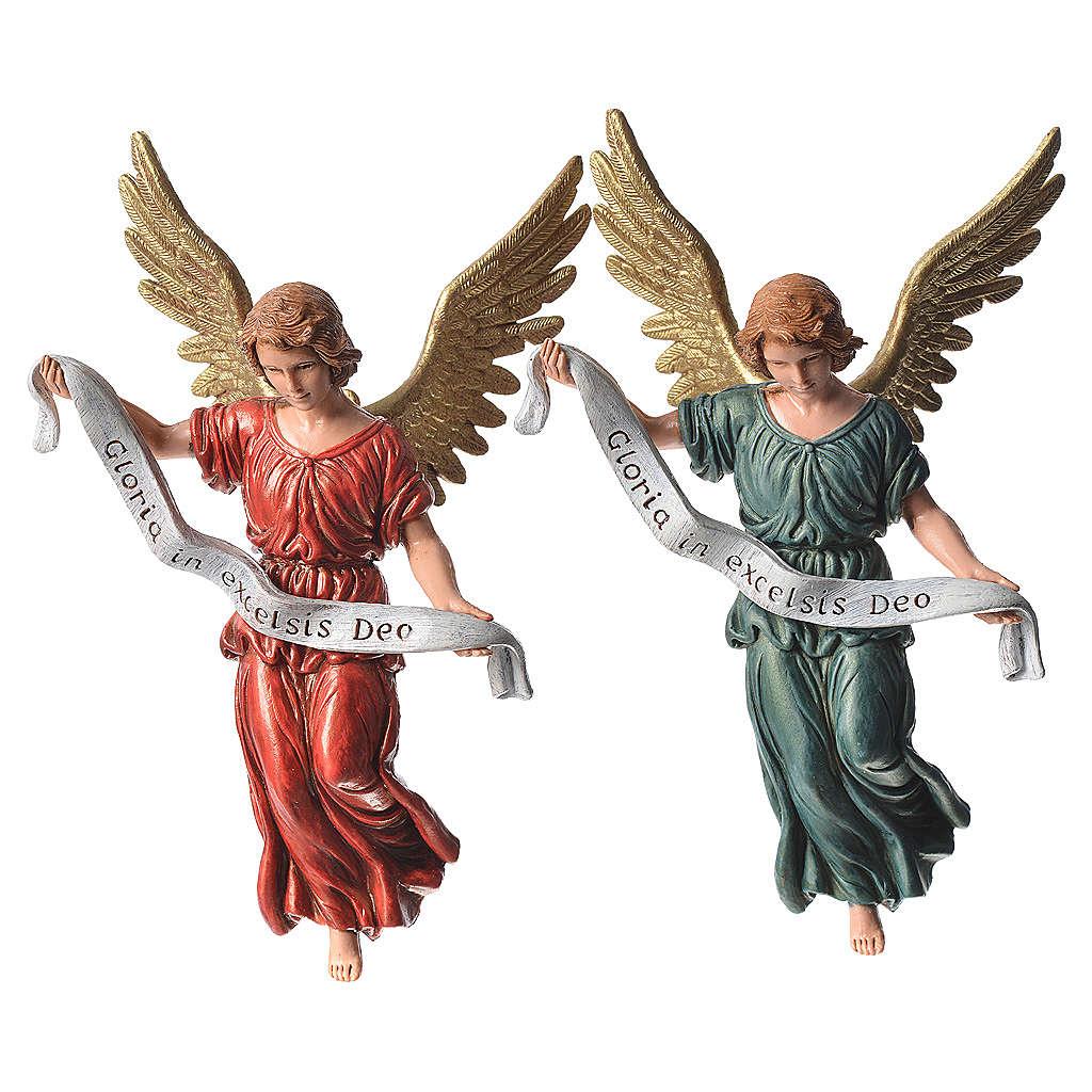 Anioł Gloria 4 kolory 13 cm Moranduzzo 4