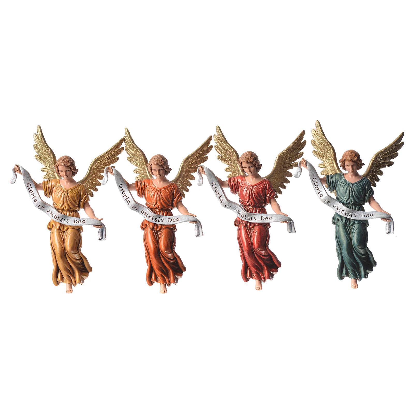 Anjo Glória 4 cores 13 cm Moranduzzo 4