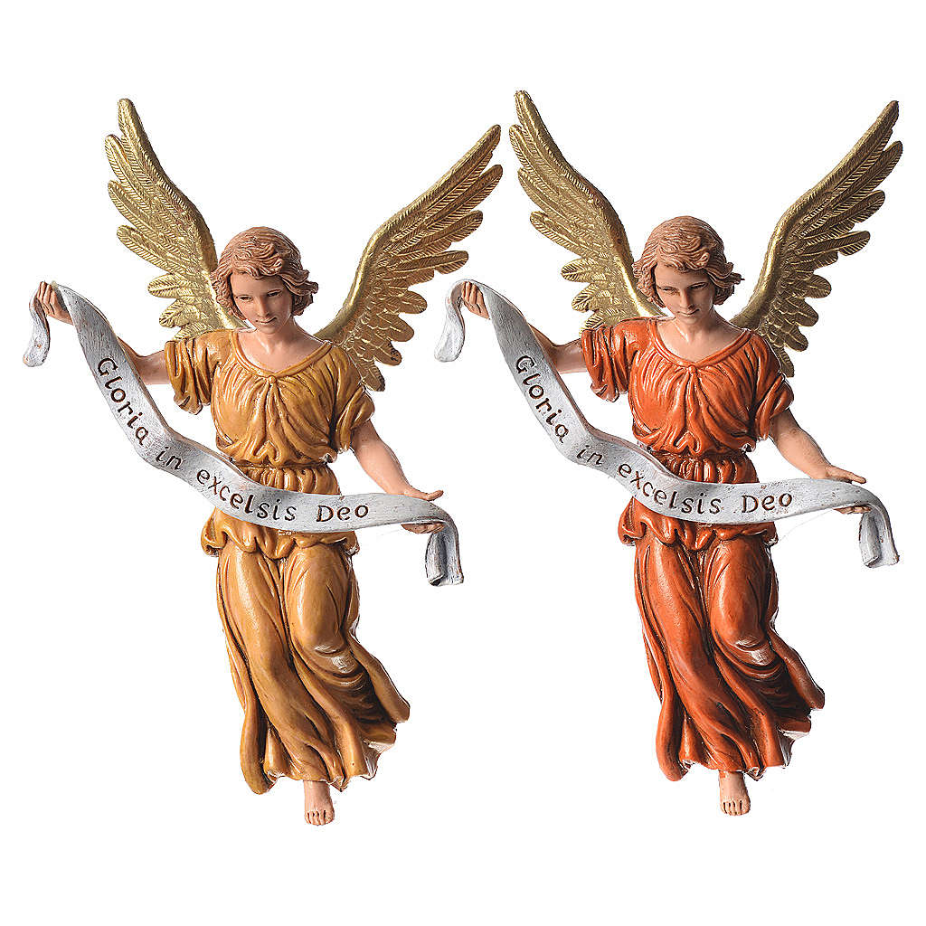 Nativity figurines, angels in glory by Moranduzzo 13cm 4