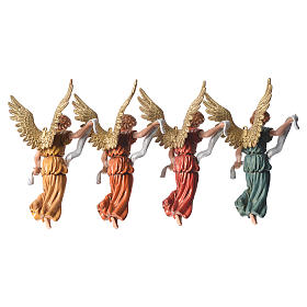 Nativity figurines, angels in glory by Moranduzzo 13cm s4