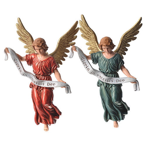 Nativity figurines, angels in glory by Moranduzzo 13cm 3