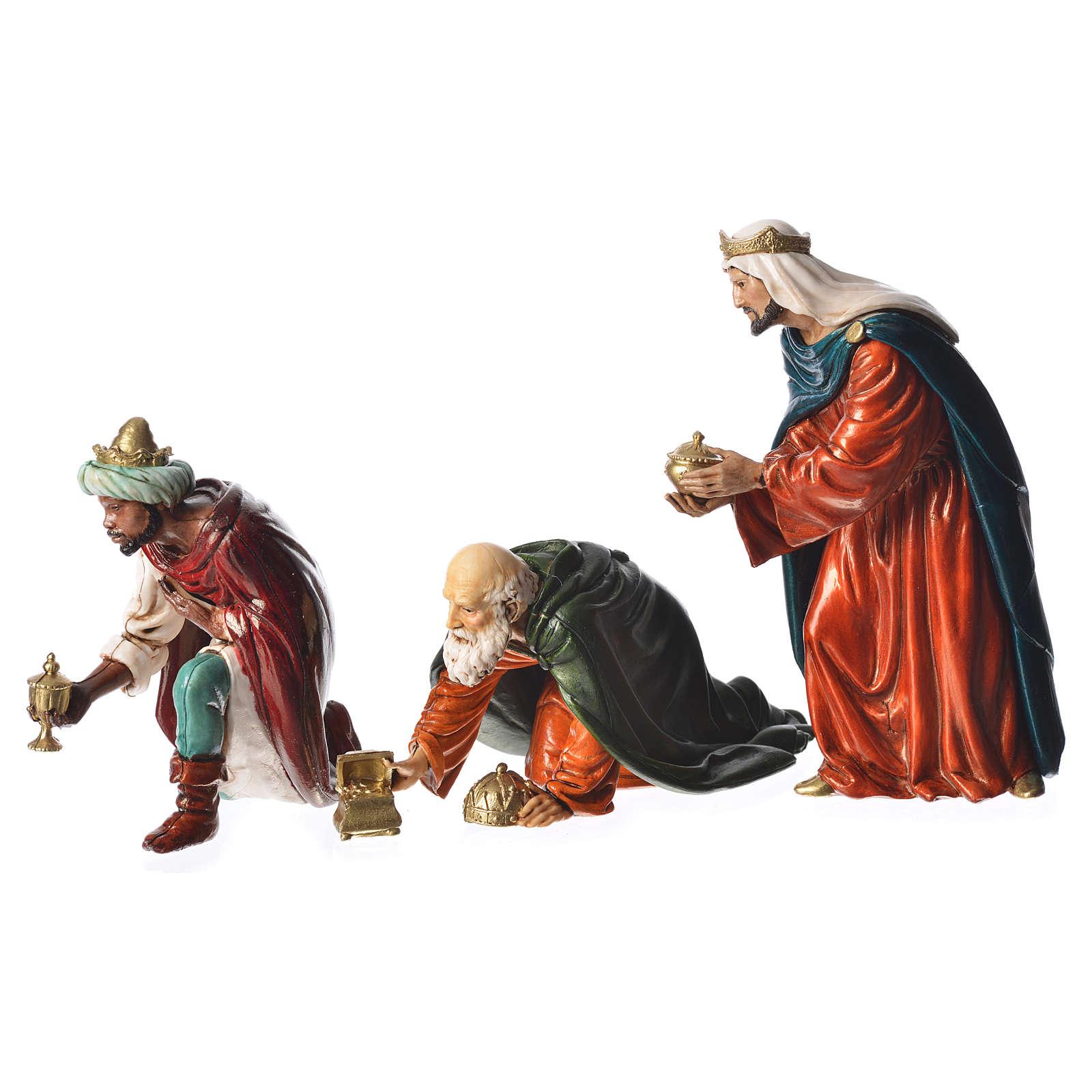 Wise men, nativity figurines, 13cm Moranduzzo 4