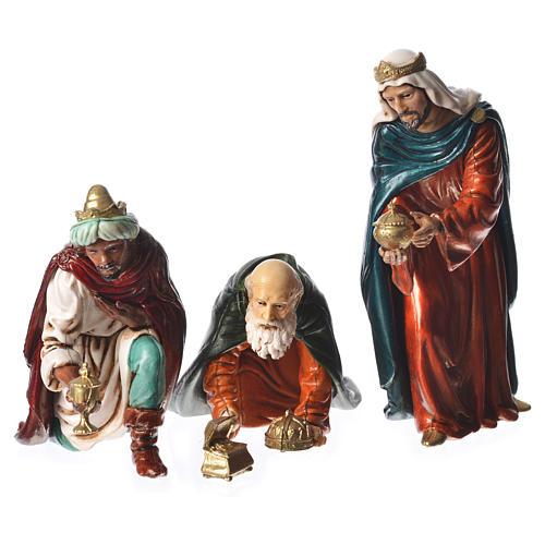 Wise men, nativity figurines, 13cm Moranduzzo 1