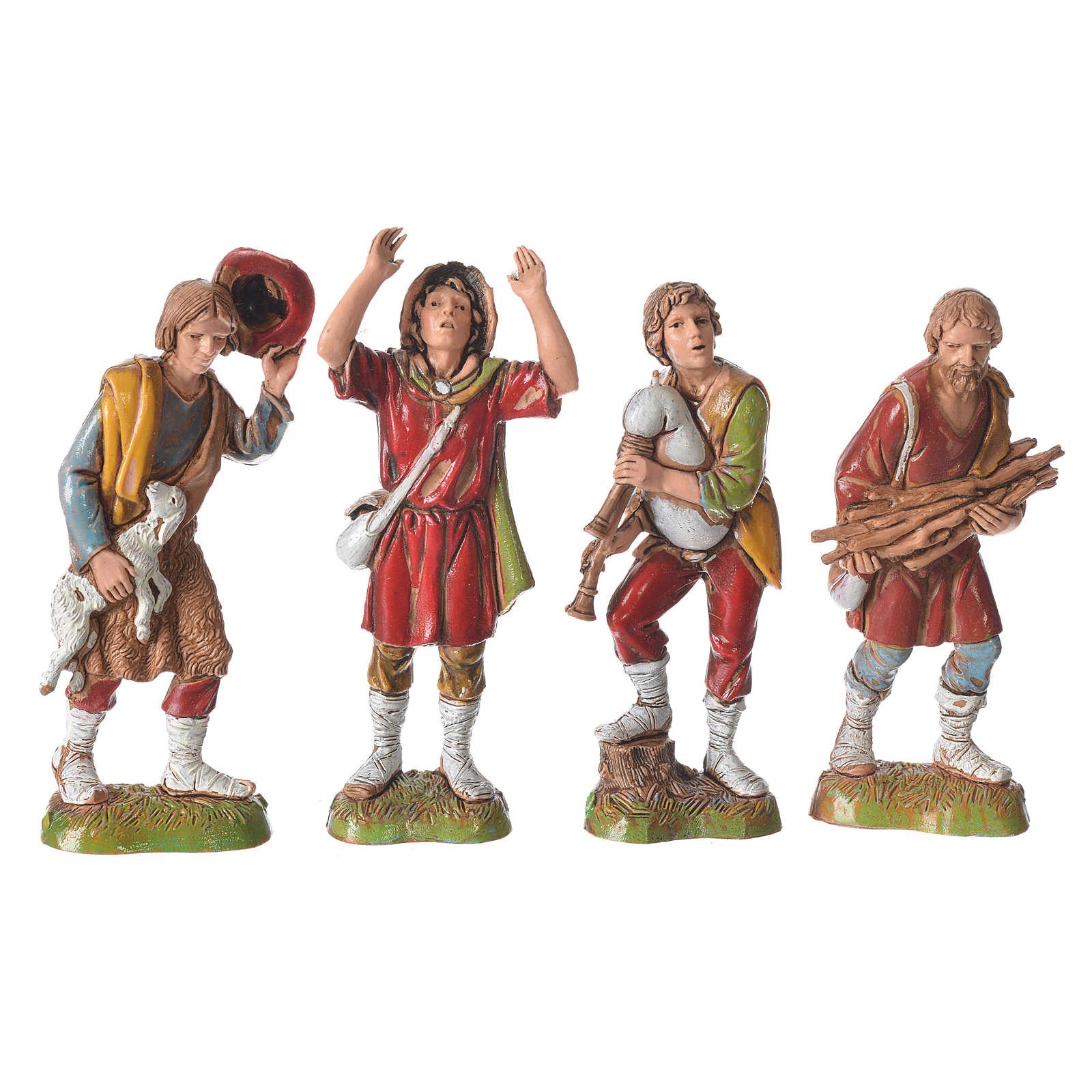 Characters, 8 nativity figurines, 10cm Moranduzzo 4