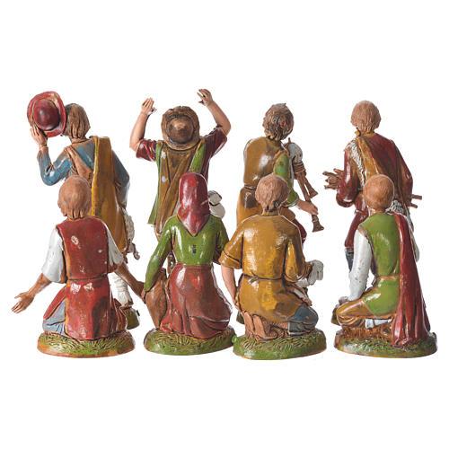 Characters, 8 nativity figurines, 10cm Moranduzzo 3