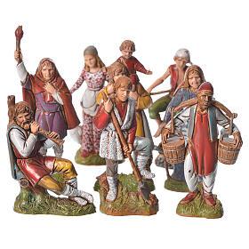 Presépio Moranduzzo: Figuras várias 8 peças presépio 10 cm Moranduzzo
