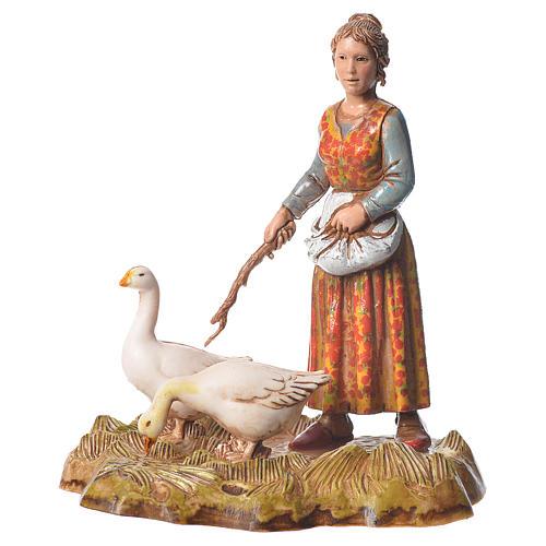 Women and trades 4 nativity figurines, 10cm Moranduzzo 3