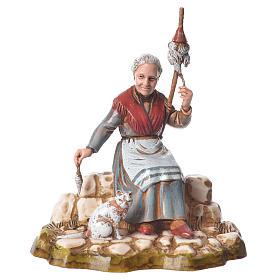 Women and trades 4 nativity figurines, 10cm Moranduzzo s9