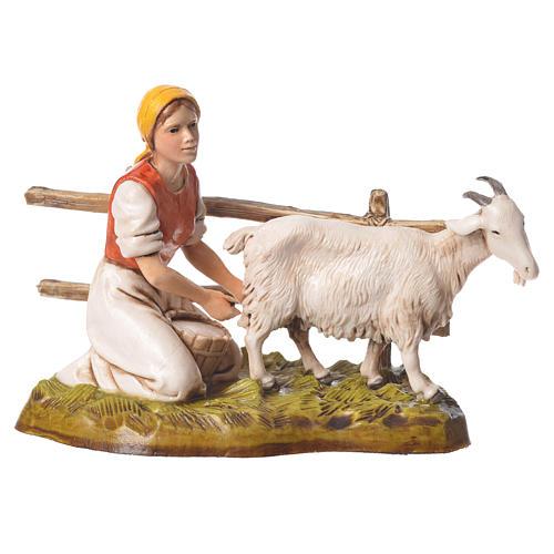 Women and trades 4 nativity figurines, 10cm Moranduzzo 10