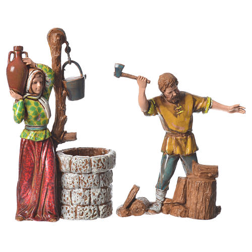 Shepherds 10cm 6 figurines, Moranduzzo Nativity Scene 3