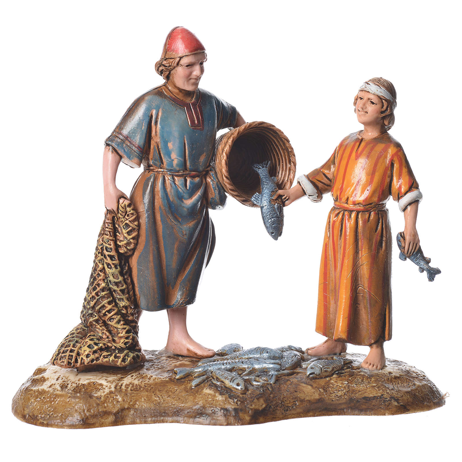 Pescatori stile arabo 10 cm Moranduzzo 4