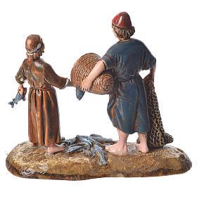Pescatori stile arabo 10 cm Moranduzzo s2