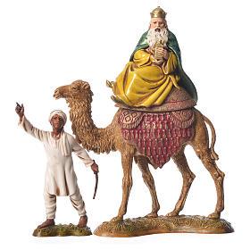 Reyes Magos y camelleros 10 cm Moranduzzo 6 figuras s2