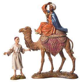 Reyes Magos y camelleros 10 cm Moranduzzo 6 figuras s4