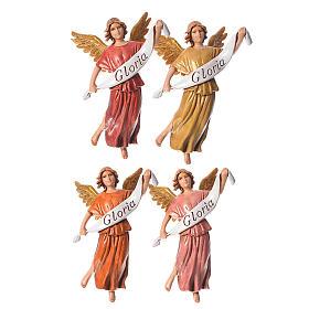 Aniołowie Gloria 4 szt. Moranduzzo 10 cm s1