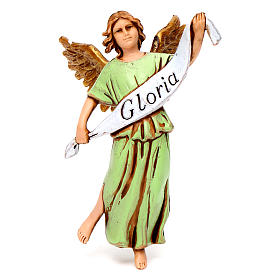 Nativity figurine, angel in glory by Moranduzzo 10cm s1