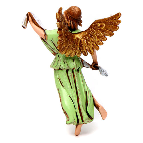 Nativity figurine, angel in glory by Moranduzzo 10cm 2