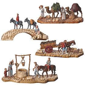 Szopka Moranduzzo: Kompozycje 4 szt. 6 cm Moranduzzo