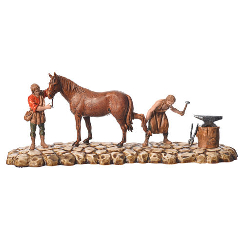 Farmers figurines 6cm, Moranduzzo, 2 pcs 2