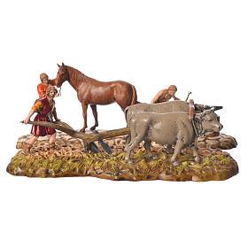 Farmers figurines 6cm, Moranduzzo, 2 pcs s1