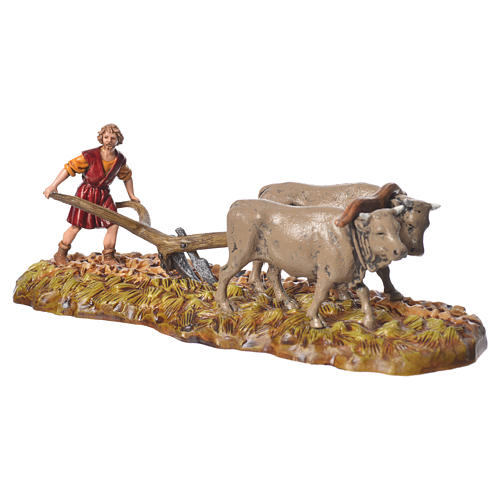 Farmers figurines 6cm, Moranduzzo, 2 pcs 3