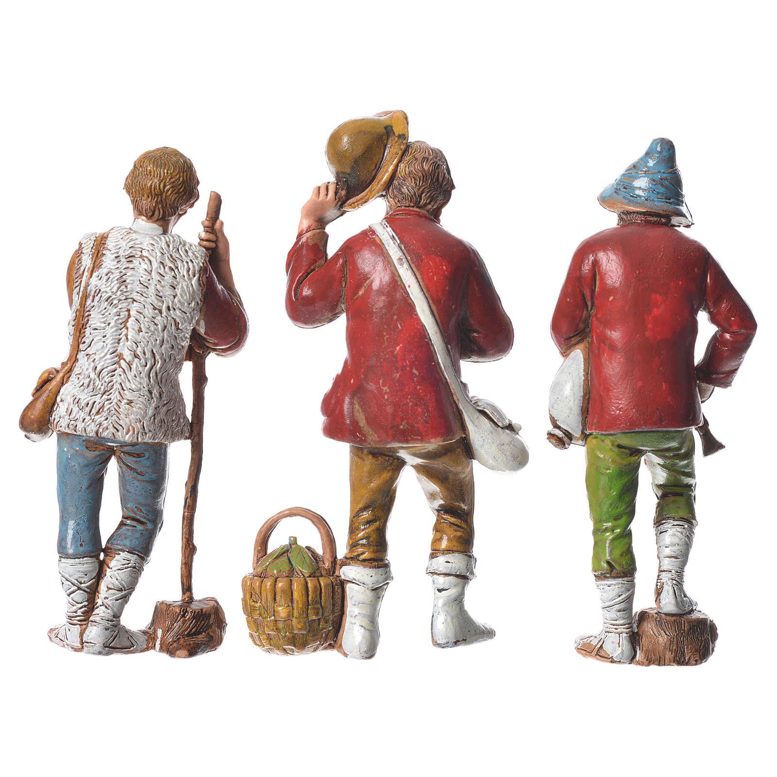 Pastores presépio Moranduzzo com figuras de  altura média 8 cm 6 peças 4