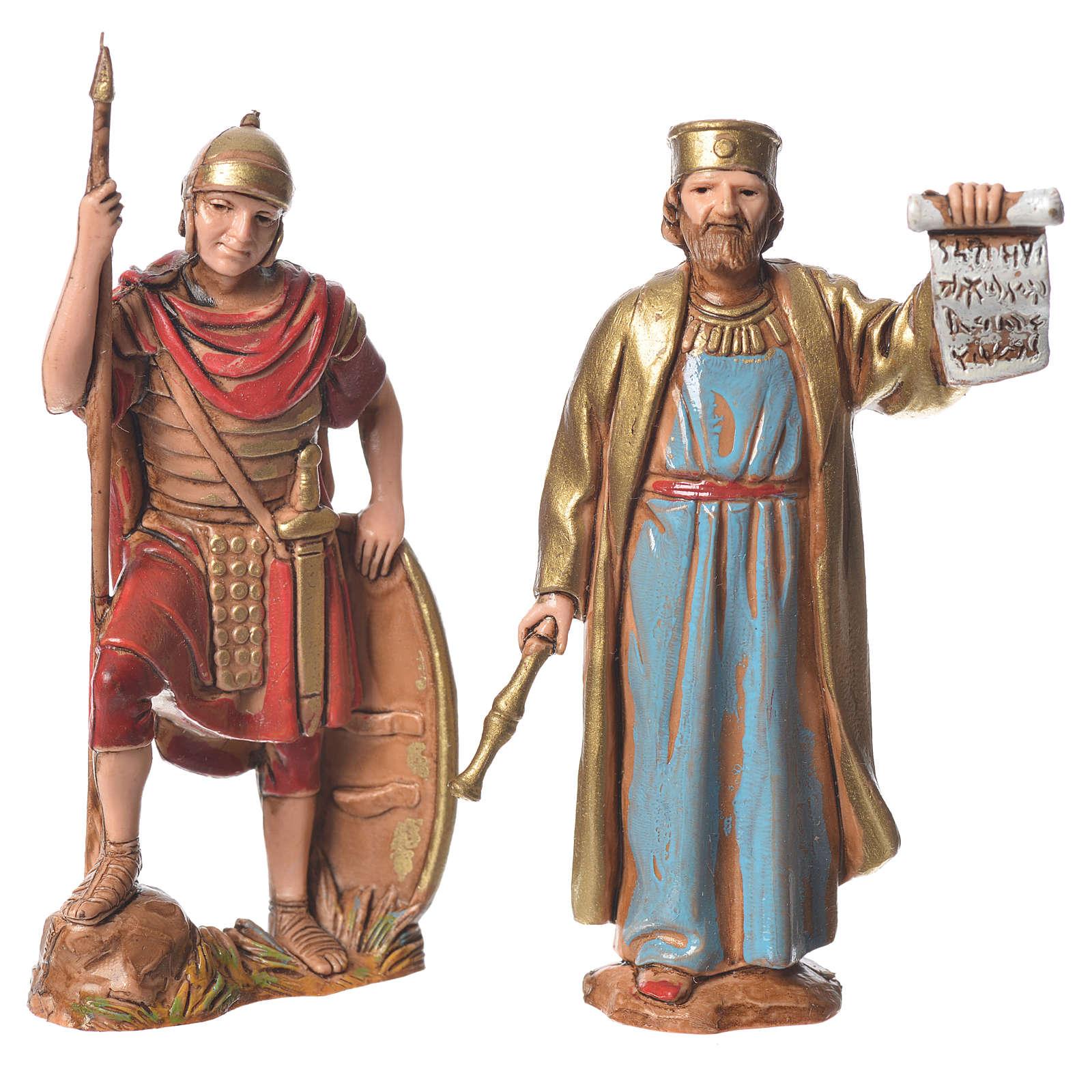 Roi Hérode et soldats 8 cm Moranduzzo 4