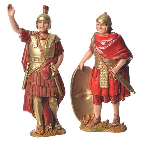 Król Herod z żołnierzami 8 cm Moranduzzo 2