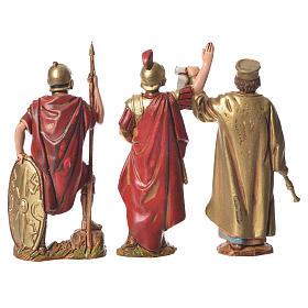 Rei Herodes com soldados 8 cm Moranduzzo s4