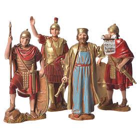 Nativity Scene by Moranduzzo: King Herod and soldiers 8cm, by Moranduzzo