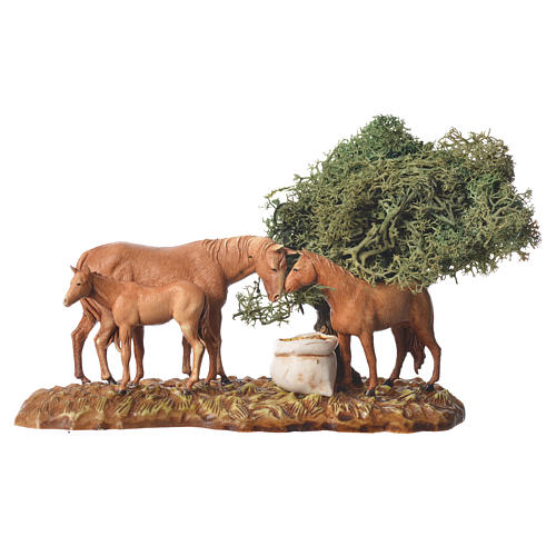 Group of animals and setting, 3pcs 8cm Moranduzzo 3