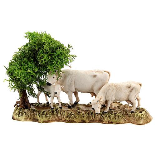 Gruppo animali e ambientazione 3 pz 8 cm Moranduzzo 2