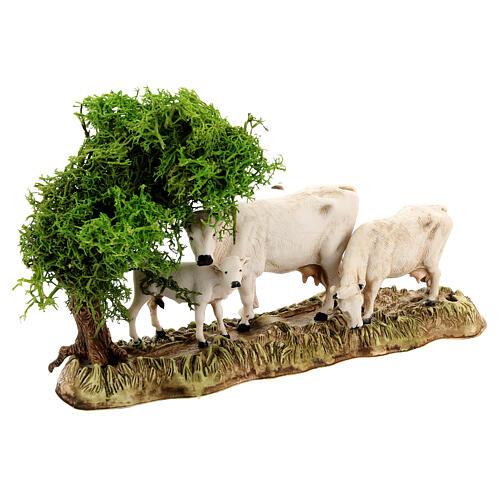 Gruppo animali e ambientazione 3 pz 8 cm Moranduzzo 7