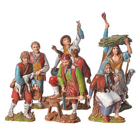 Nativity Scene by Moranduzzo: Nativity Scene figurines 8cm, working characters 8pcs