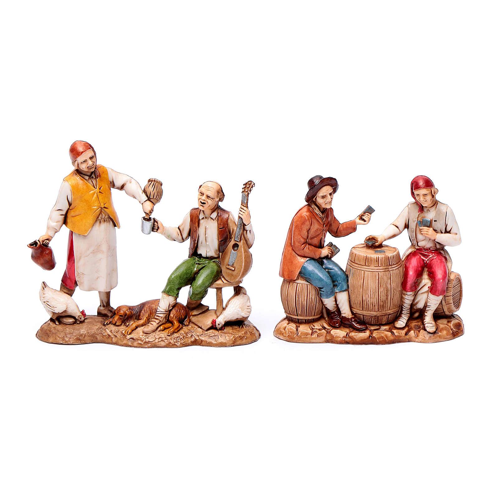 Nativity Scene figurines 8cm, restaurant 3 pcs 4