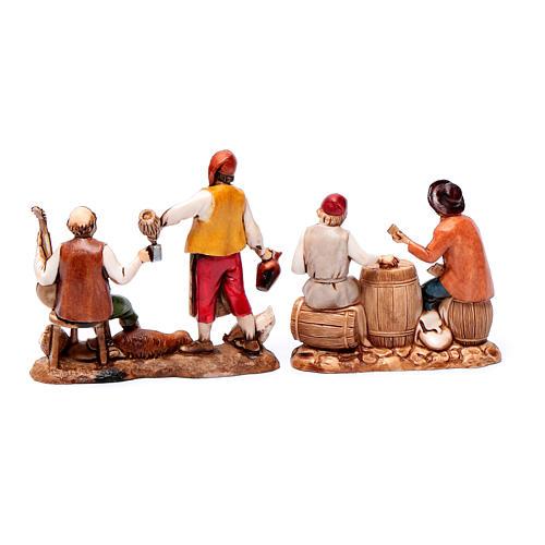 Nativity Scene figurines 8cm, restaurant 3 pcs 2
