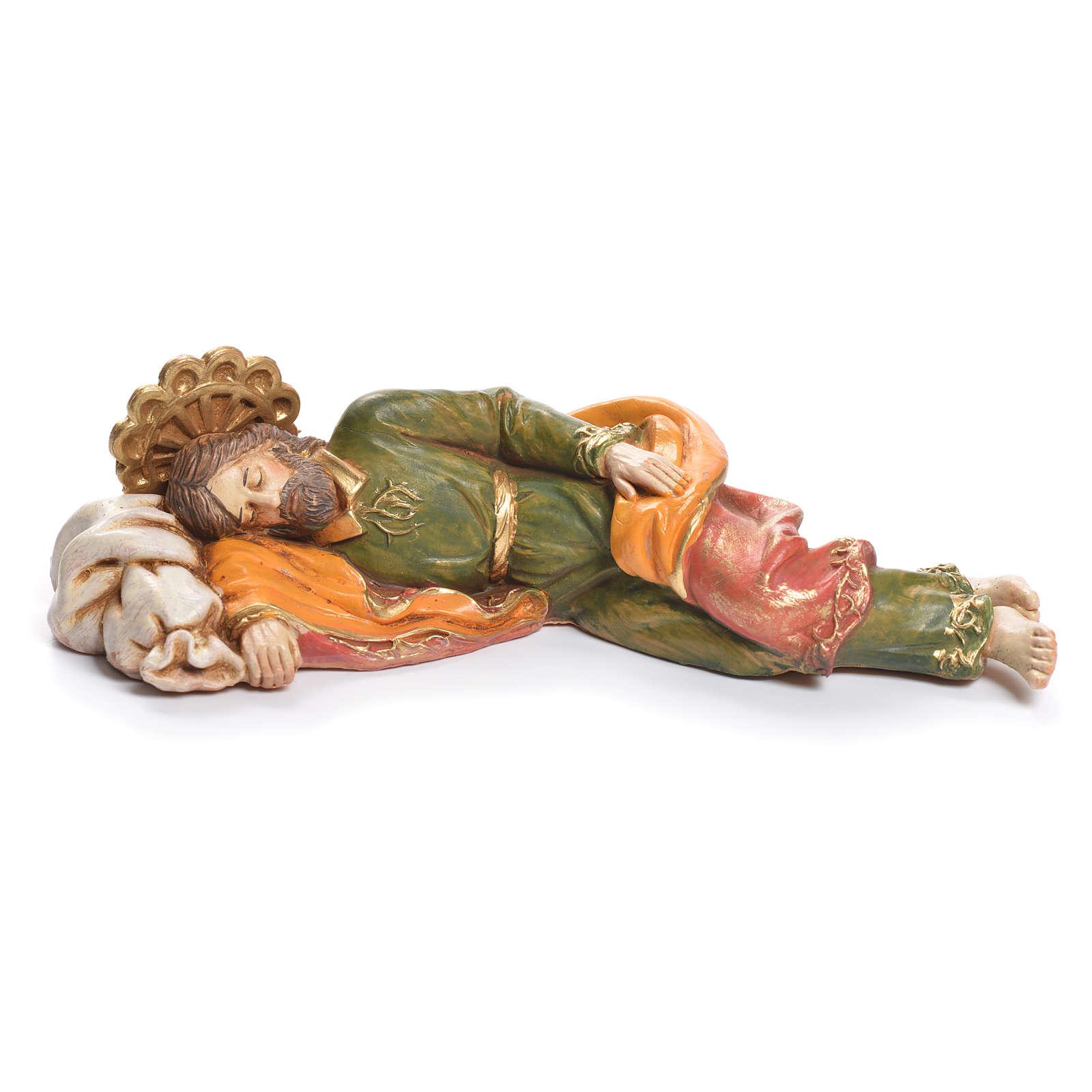 Heiliger schlafender Josef Fontanini 17cm 4
