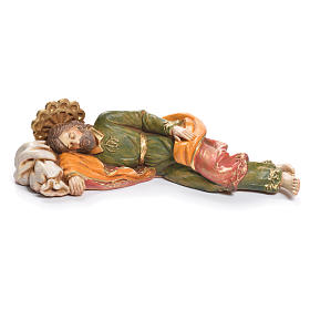 Heiliger schlafender Josef Fontanini 17cm s1
