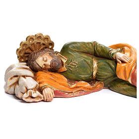 Heiliger schlafender Josef Fontanini 17cm s2