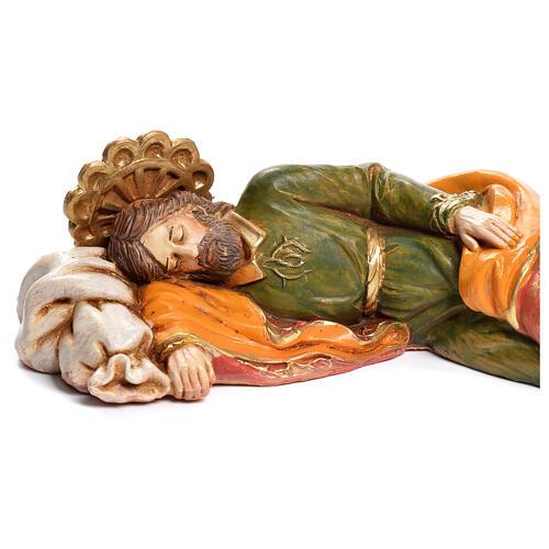 Heiliger schlafender Josef Fontanini 17cm 2