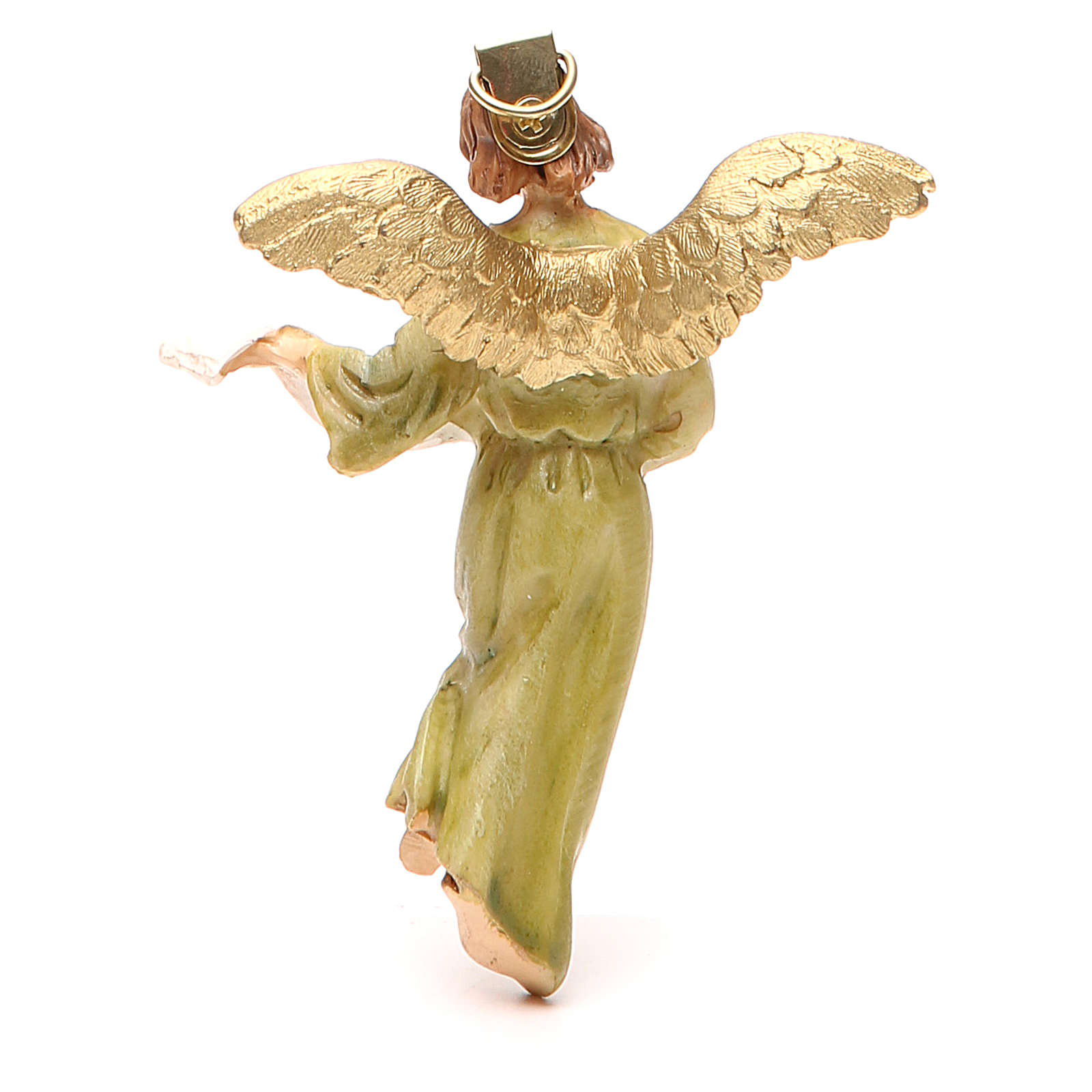 Angel of Glory in painted resin 12cm affordable Landi Collection 3