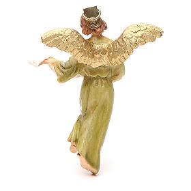 Anioł Gloria żywica malowana 12cm Landi s2