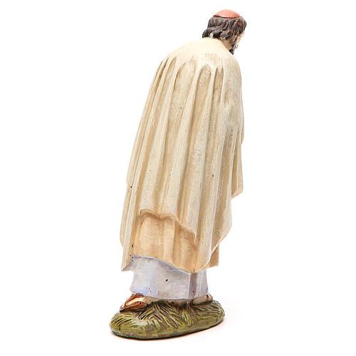 St Joseph en résine peinte 16 cm gamme Martino Landi 2