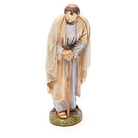 San Giuseppe in resina dipinta cm 16 Linea Martino Landi s1