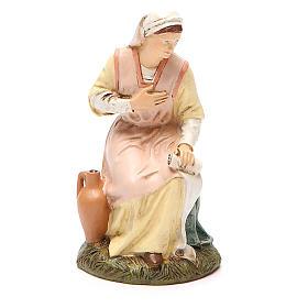 Vierge en résine peinte 16 cm gamme économique Landi s1