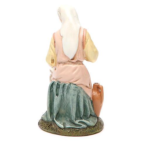 Vierge en résine peinte 16 cm gamme économique Landi 2