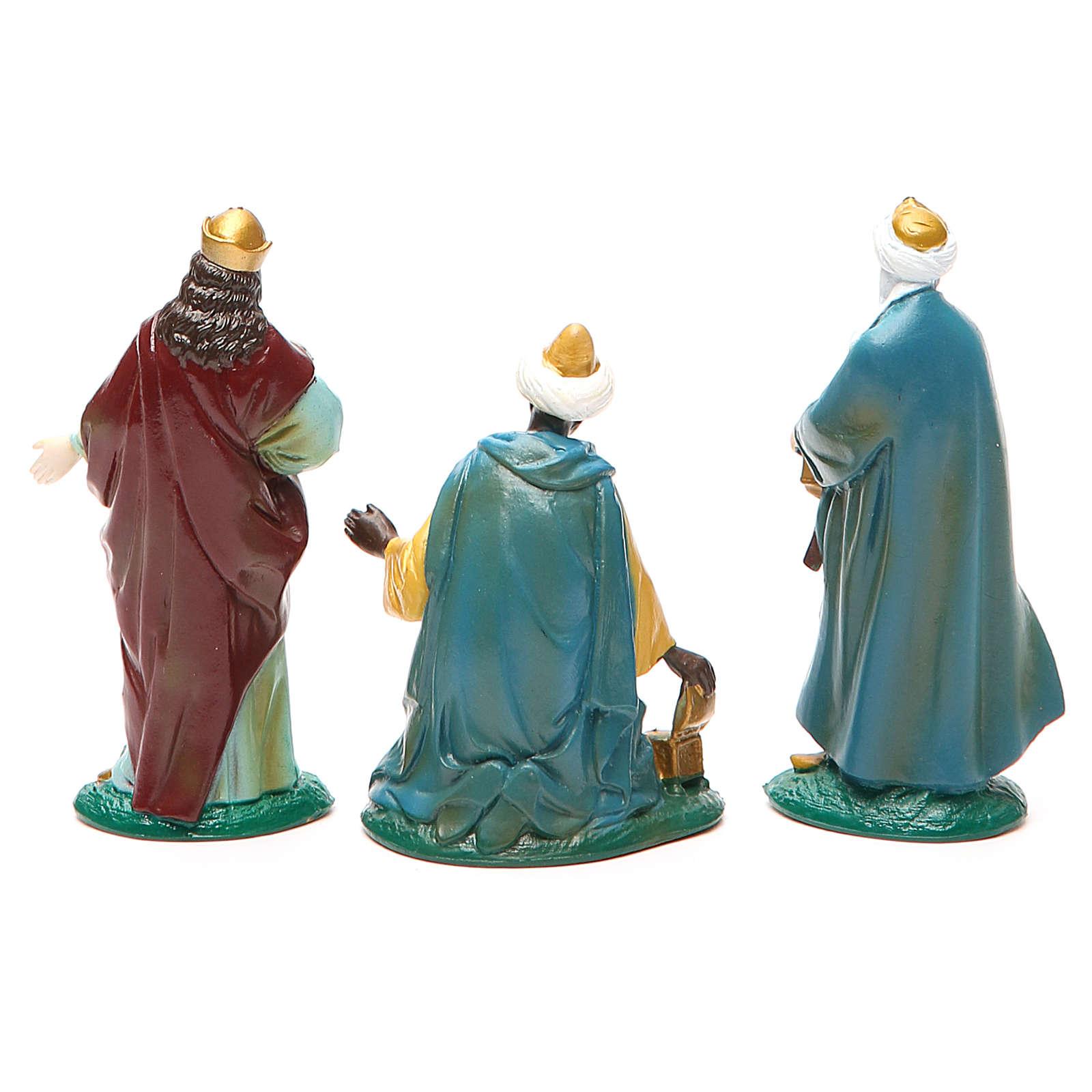 Série trois Mages pvc coloré 10 cm 3