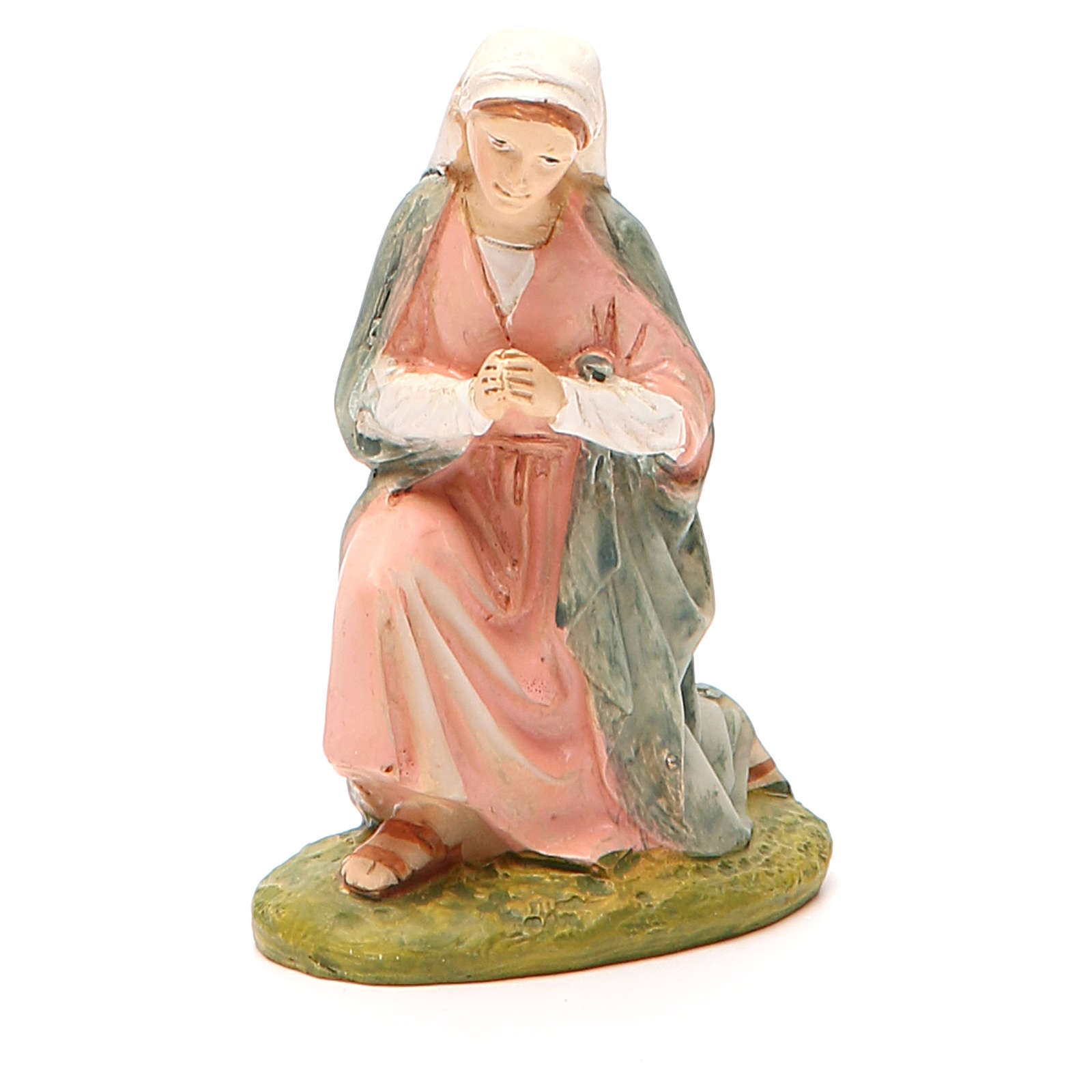 Our Lady in painted resin 10cm Martino Landi Collection 3