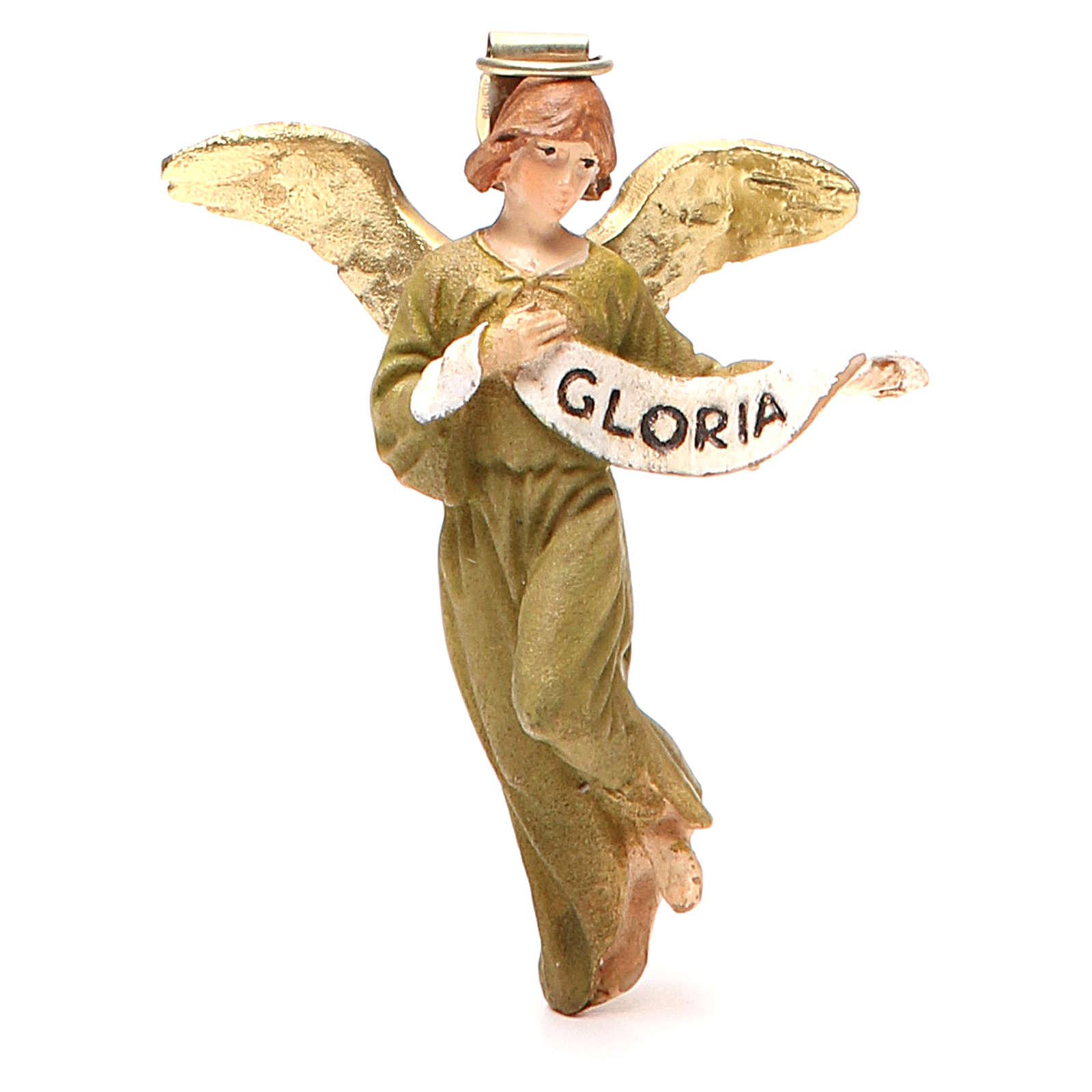 Angelo Gloria resina dipinta cm 10 Linea economica Landi 3