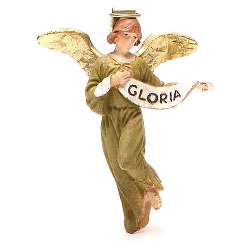 Angelo Gloria resina dipinta cm 10 Linea economica Landi 1